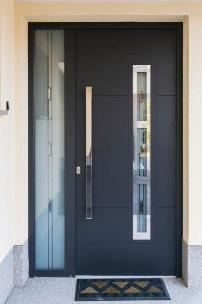 Modern Black Front Door Ideas Black Door Black Front Modern Black Front Doors