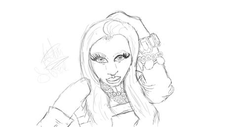 I Love Nicki Minaj Free Coloring Pages Nicki Minaj Coloring Pages