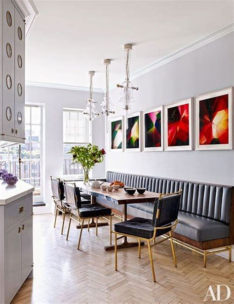 banquette seating dining room 25 best ideas about dining room banquette on
