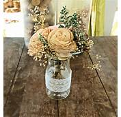 Faux Peony Flower Arrangement In Addition Corporate Event Decorations