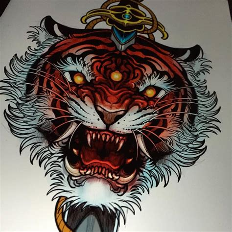 cool tiger tattoo designs unique tiger design for