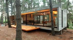 Open Concept Bungalow House Plans Concrete Block Cabin Designs Cinder Block Cabin Design
