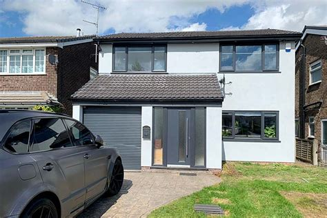 rendering detached house  manchester located  greater