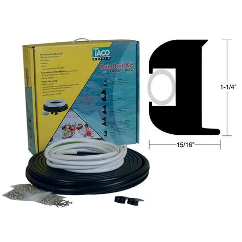 boat rub rail insert replacement taco marine black rub rail kit flexible vinyl with