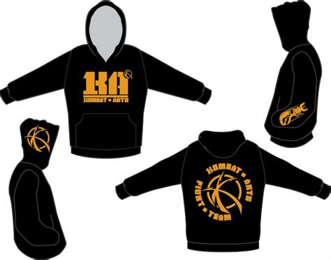 Sweater Squad Hitam Fightmerch special sale on kombat arts shirts and hoodies kombat arts academy