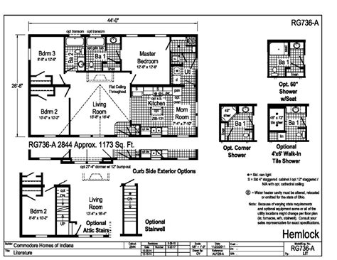 commodore homes floor plans commodore homes of pg306a