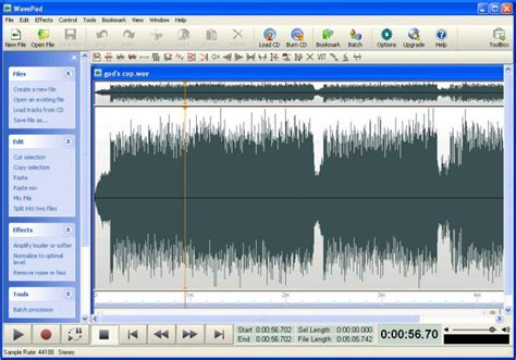 audio video editing software free download full version for windows 7 wavepad audio editing software download