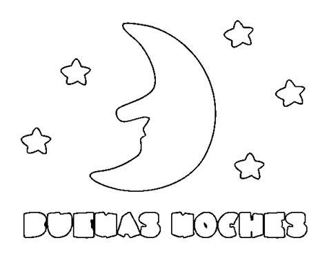 imagenes de buenas noches en ingles para colorear dibujo de buenas noches para colorear dibujos net