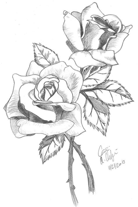 pencil drawings charcoal drawings and art galleries rose pencil art flower and heart 5 drawings of flowers clip
