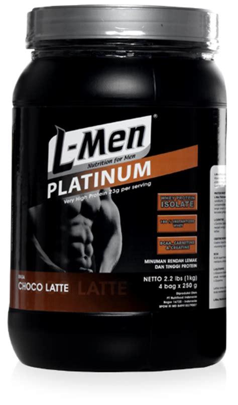 Lmen Platinum Whey Protein sehat berotot 08 25 10