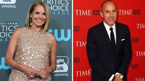 Couric Has A New by Couric Claims She Had No Idea About Matt Lauer