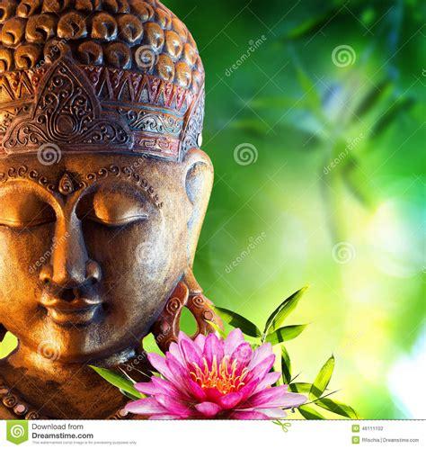 imagenes zen buda fondo oriental con buda foto de archivo imagen de