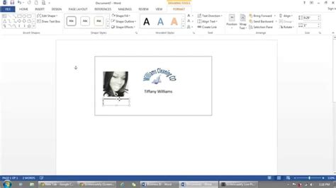 how to make employment card how to use microsoft word to make id badges