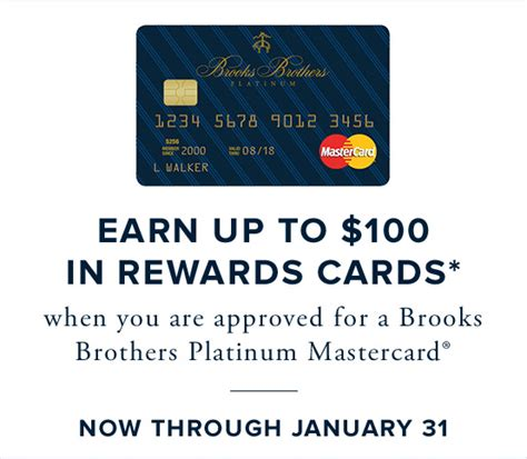 Brooks Brothers Gift Card - brooks brothers the brooks card brooks brothers platinum mastercard