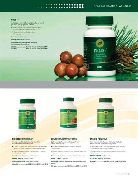 4life Detox Ingredients by Productos 4life