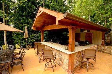 backyard cabana cabana outdoor living space traditional patio