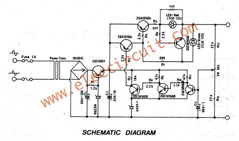 circuit diagram of walkie talkie circuit and schematics