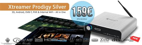 Xtreamer Prodigy Silver With Wifi Built In new xtreamer products for 2012 the digital lifestyle