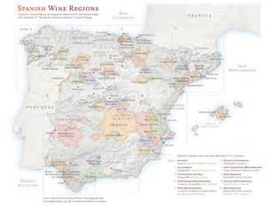 Spain Wine Map by Sensational Spain Unique Terroir Driven Wines With