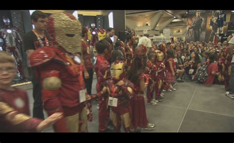 exclusive video iron man kids costume event