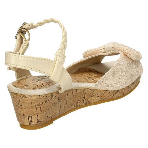 cutie small wedge sandals ebay