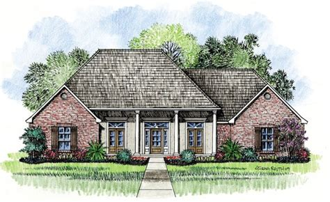 french country home plans chalmette country french home plans acadian house plans