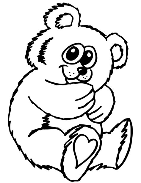 cute bear coloring pages search results for teddy bear cartoon for coloring