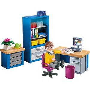 playmobil family home playset the home office playmobil