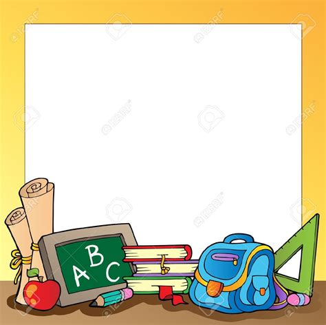 imagenes de libros escolares marcos escolares letras buscar con google marcos y