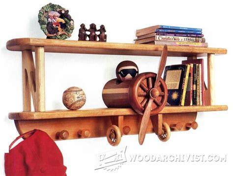 bi plane wall shelf bookcases bookshelves children s airplane shelf plans woodarchivist