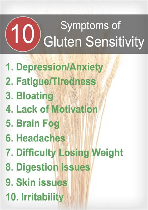 Grain Detox Symptoms by How To Naturally Treat Gluten Intolerance Organic