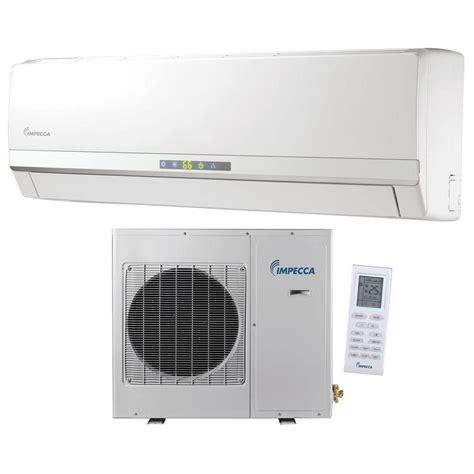 Impecca 12,000 BTU Ductless Mini Split Air Conditioner & Heat Pump with Inverter System   115V