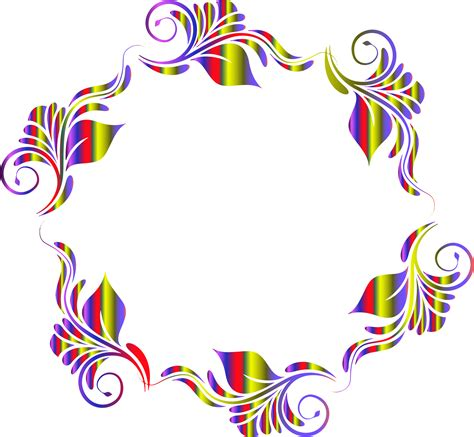 flower pattern clipart clipart colorful flowers pattern in a circle clipart