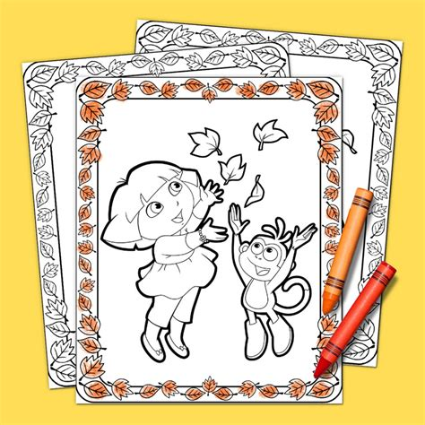 dora thanksgiving coloring page dora the explorer thanksgiving coloring pack nickelodeon