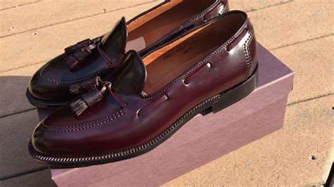 alden shell cordovan loafers new alden 8 shell cordovan tassel loafer in
