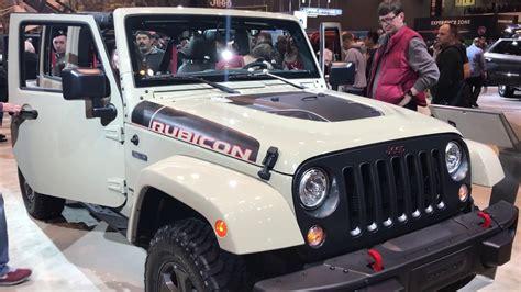 jeep gobi clear coat 2017 jeep wrangler unlimited rubicon recon edition gobi
