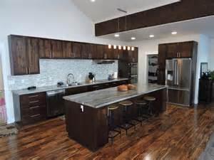 Contemporary Wood Kitchen Cabinets 35 luxury kitchens with dark cabinets design ideas designing idea