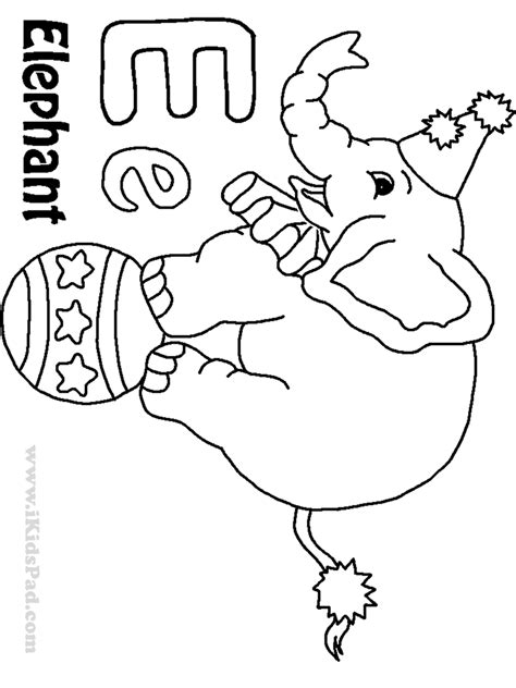 free coloring pages of lowercase letter e