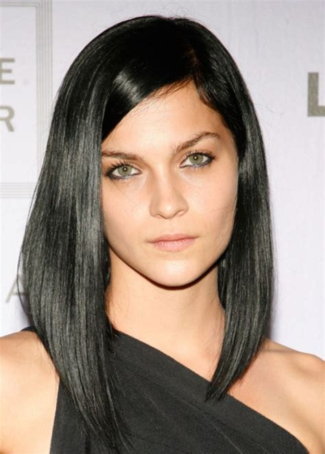 bob hairstyles with uneven ends 20 asymmetrical hairstyles herinterest com