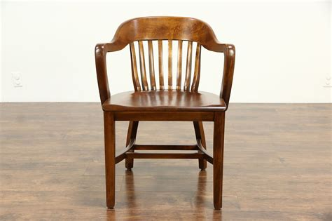 sold desk office  library chair  arms