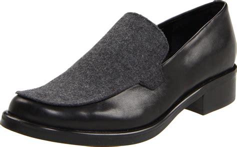 franco sarto bocca loafers franco sarto franco sarto womens bocca loafer in black lyst