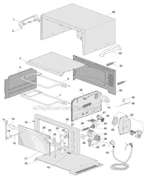 Delonghi Toaster Oven Replacement Parts Delonghi Eo1270b Parts List And Diagram