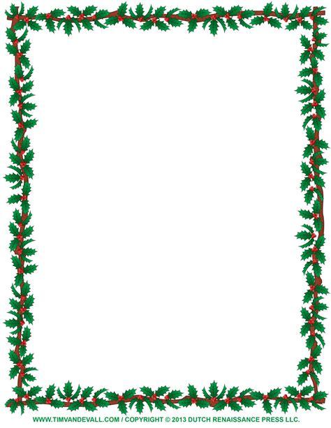 Printable Borders Free Christmas Clip Art Borders Clipart Best