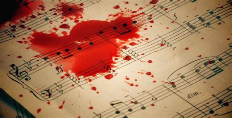 bloody song blood drops on sheets by okanakdeniz new videohive