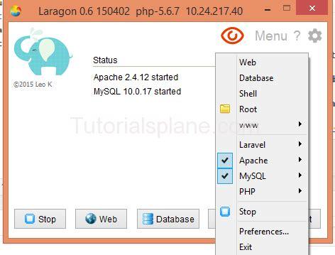 installing laravel bootstrap install laravel windows tutorialsplane