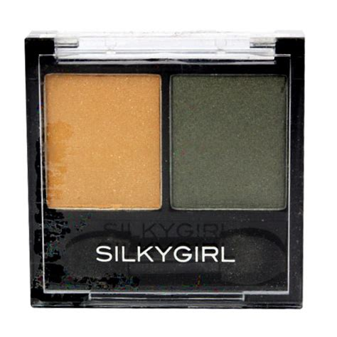 Silkygirl Eyeshadow silkygirl duo eye shadow 07 golden jade gogobli