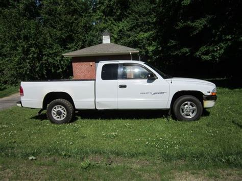 dodge dakota 2 door sell used 2000 dodge dakota sport extended cab 2