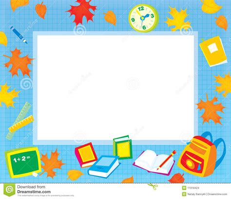 design html page showing forms and frames elementary education border clipart