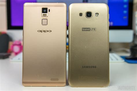 Samsung A8 Plus Oppo R7 Plus Vs Samsung Galaxy A8