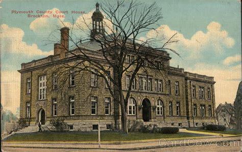 brockton court house plymouth county court house brockton ma postcard